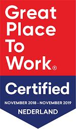 Werkmandejong Great Place to Worg certified